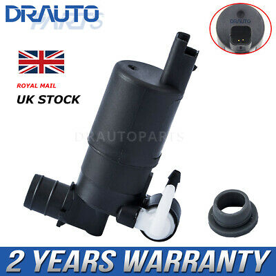 Front & Rear Windscreen Washer Pump For Nissan Pathfinder Qashqai 2007- Micra
