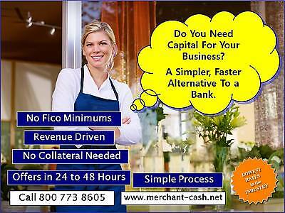 Complete TURNKEY Merchant Cash Advance Business w/ Website & 800#. Launched 2011