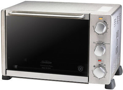 Sunbeam Convection Pizza Bake and Grill Oven 23L - used only 3 times