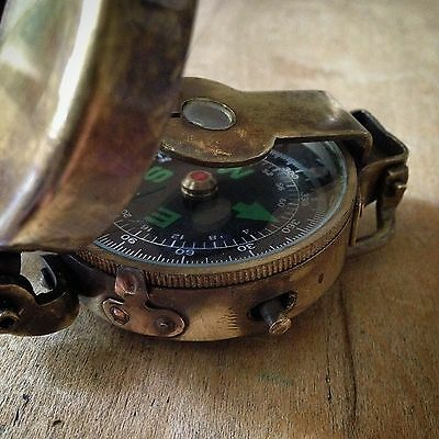 HOT SALE Engineering Compass Antique Brass Heavy Duty Vintage Style