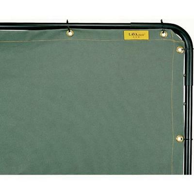 Welding Curtains 6' x 6' Opaque 25 Mil Cotton Duck Canvas (Curtain Only)