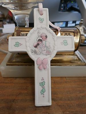 Precious Moments Cross Ornament