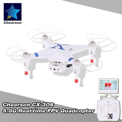 Cheerson CX-30S 4CH 2.4GHz 6-Axis Gyro RTF 5.8G Real-time FPV RC Quadcopter R5C2