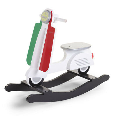CHILDWOOD Kids Children's Rocking Scooter Toy Relaxing Playing Italy CWRSIT