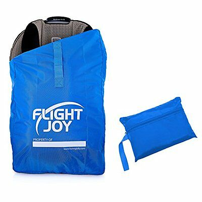 Best Car Seat Travel Bag for Airport Gate Check - Ultra Durable Carseat Airplane