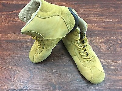 BOB MARLEY Brown Lace Up Leather Casual Boots Men's Size 7.5