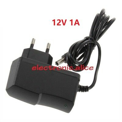 Power Adapter EU US Plug AC 110V-240V to DC 12v 1A 2A For 3528 5050 LED Strip