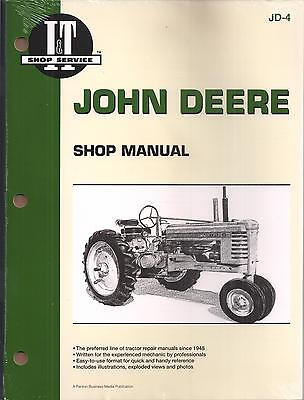 John Deere Workshop Manual For Models A,  B, G, H, D, M & Mt
