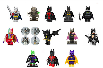 Super Heroes Batman Series Batman & Batgirl Minifigures Toy Blocks