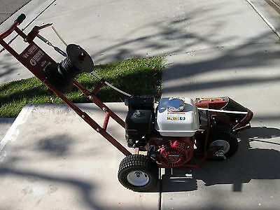 Brown Wiremaster Mole Trencher Cable Layer/Installer F460HA