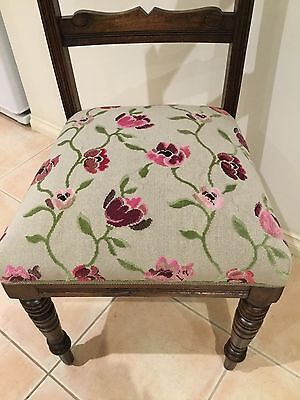 ANTIQUE EDWARDIAN CHAIR Fully Restored