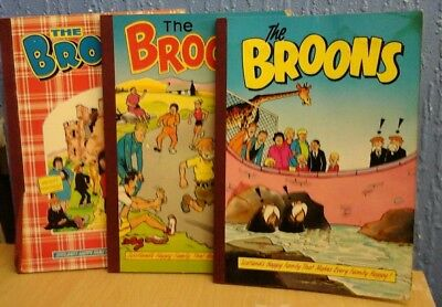3X Broons Annuals