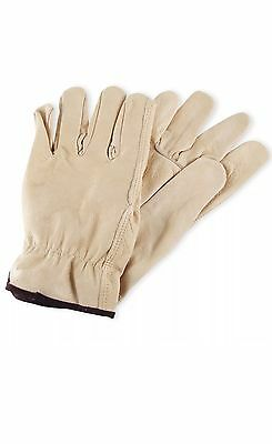 Wells Lamont Men's Cowhide Leather Work Gloves (M,L,XL SIZES AVAILABLE)