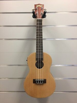 Mojo '70's Series' Solid Spruce Top Electric Concert Ukulele Natural Satin