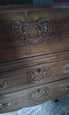 French style carved Bureau