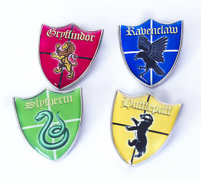 Harry Potter Shield Lapel Pin (4 Houses to choose from)