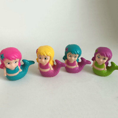 Water Spray Cartoon Baby Bathing Mermaid Fishtail Floating For Fun Doll