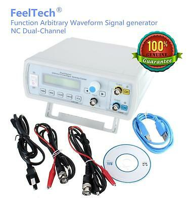 New FeelTech FY3200S 6-25Mhz 2-CH DDS Function Sweeper Waveform Signal Generator