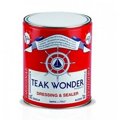 Teak Wonder Dressing and Sealer, olio impregnante per teak 1LT