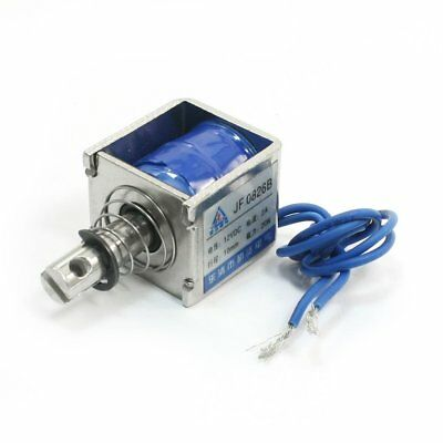 DC12V 2A 20N/10mm Pull Push Type Linear Motion Solenoid Electromagnet