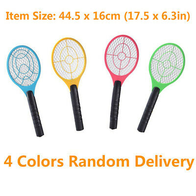 Aa Batteries Large Size Electric Fly Swatter Bug Zapper Mosquito Insect Killer
