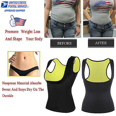 US Gym Waist Trainer Plus Size Body Shaper Stomach Hot for Exercise Sweating