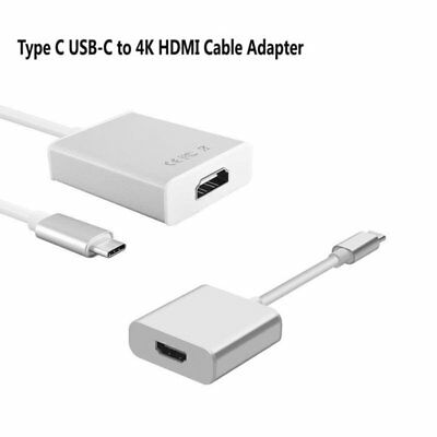 For Samsung S8 S8 Plus A5 A7 2017 3.1 Type C USB-C To 4K HDMI HDTV Adapter Cable