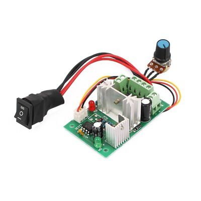 6-30V DC Motor speed Controller Reversible PWM Control Forward / Reverse Switch