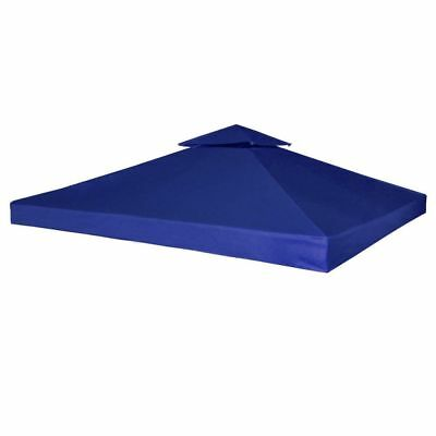 New Outdoor Gazebo Cover Canopy Top Cover Replacement 270 g / m?Dark Blue 3x3 m
