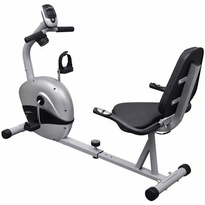 Recumbent Exercise Bike 3 kg Magnetic Flywheel Pulse Fitness Workout Machine