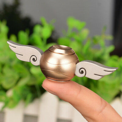 Harry Potter Unique Golden Snitch Metal Hand Fidget Spinner Toy Updated Version
