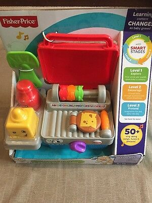 Brand New Fisher Price Laugh & Learn Smart Stages BBQ