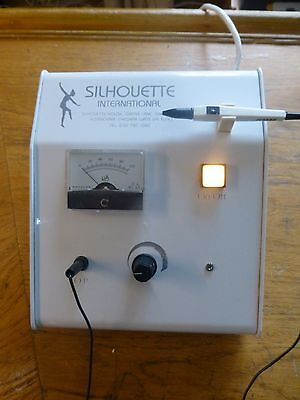 Silhouette Epil 100 Electrolysis Machine.with Sterex Needle Holder