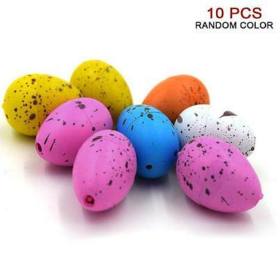 10pcs Cute Magic Growing Hatch Toy Add Water Growing Expansion Dinosaur Eggs X3