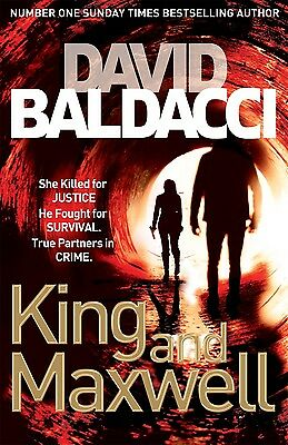 King and Maxwell by David Baldacci BRAND NEW BOOK (Paperback, 2014)