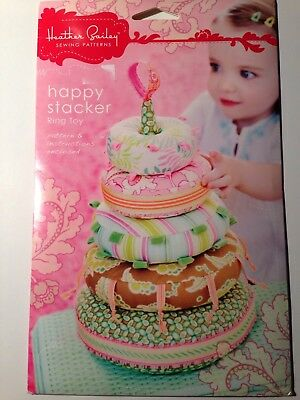Heather Bailey Pattern Baby Stacker Toy Ring Toy Pattern and Instructions