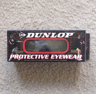 Dunlop Protective Eyewear Goggles With Carry Bag - Rrp £20