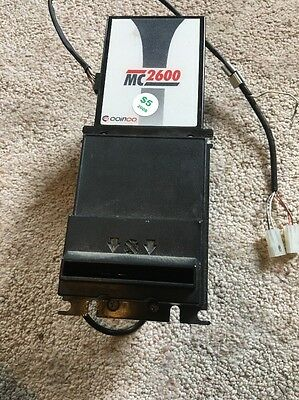 COINCO MC2600 Part# MC2611U7A04041 120V $1 $5 $10 & $20 Dollar Bill Accepter