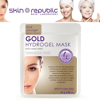 Skin Republic Collagen Hydrogel Instant Hydration Face Infused Serum Mask 25g