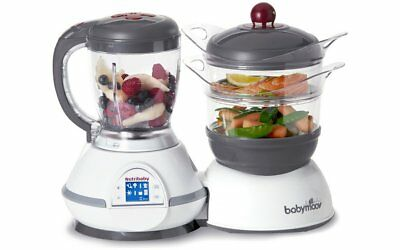 Babymoov Baby / Child Nutribaby 5 In 1 Food Processor (Cherry or Cream)