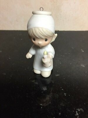 1982 Precious Moments Ornament Jonathan & David Enesco Angel Christmas Holiday