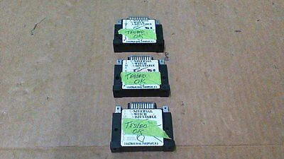 Artisan 438Usa  Solid State Timer Modules / Adjustable Time 1 To 1023 / (3) Used