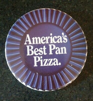 Vintage Pizza Hut 1989 Button Pin America's Best Pan Pizza