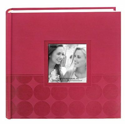 Pioneer Photo Albums DA-200EC/P 200-Pocket Circle Embossed Leatherette Photo ...