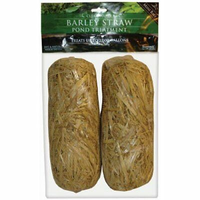 Summit Chemical Co 130 Clear-Water Barley Straw Bales 2-Pack