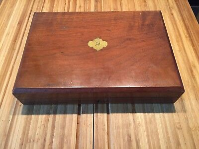 Walker & Hall Wooden Box - Rosewood. For 24 Cutlery Pieces.