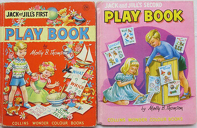 Jack and Jill's First and Second Play Books by Molly Thomson
