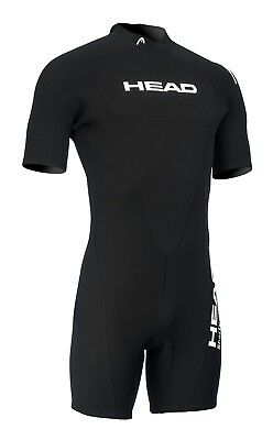 Head Herren Neoprenanzug Shorty One Schwarz