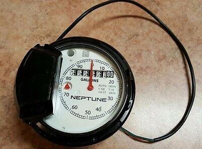 Neptune Register 1-1/2 T-10 for Water Meter / Gallons / Auto H65N / NEW