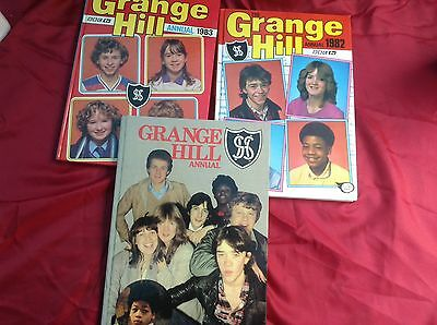 Collection Of Vintage Grange Hill Annuals